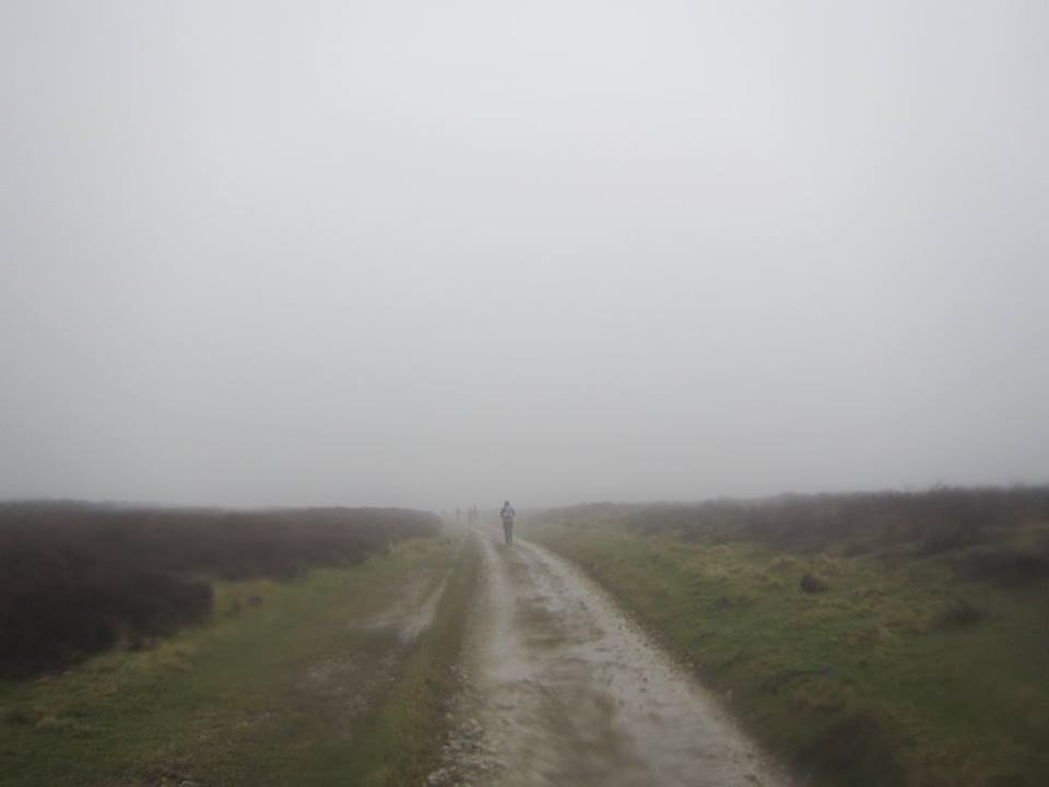 Not the best conditions to be running around the Moors