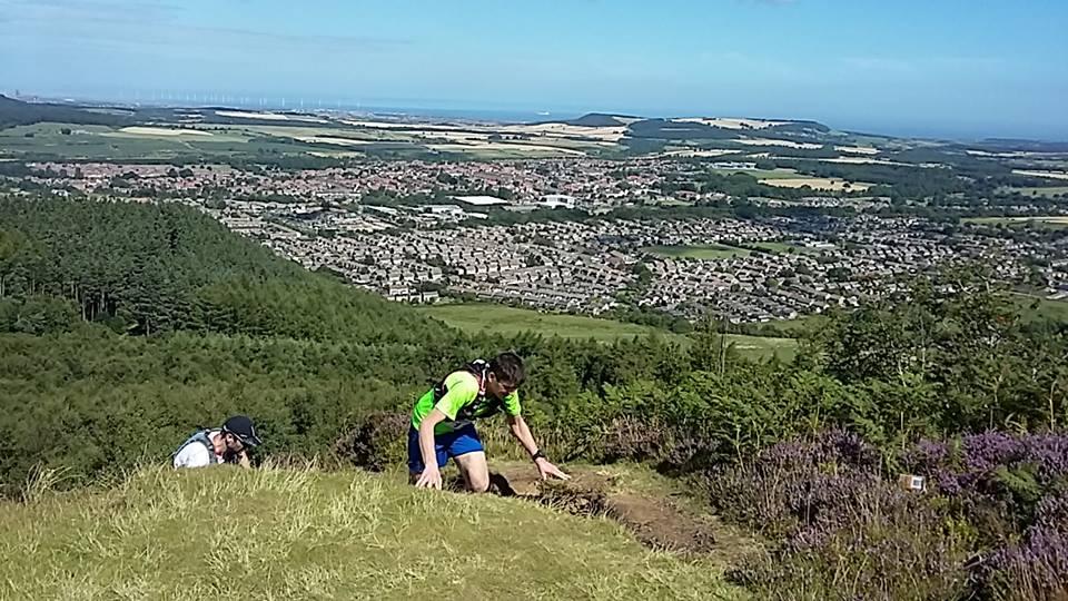 Hardmoors Saltburn Trail Marathon - Highcliff Nab