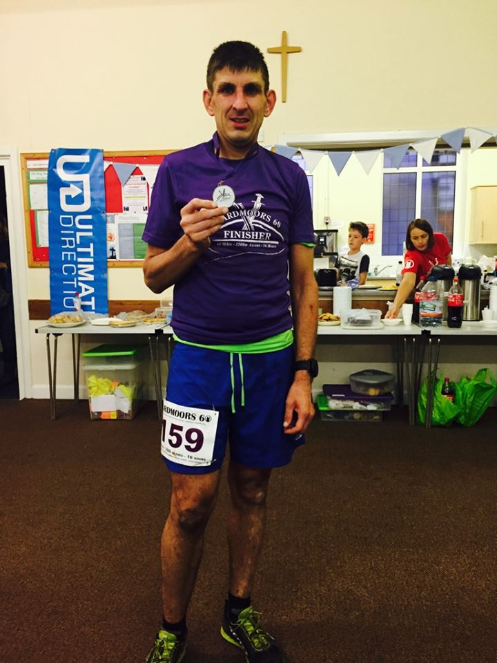 Hardmoors 60 Finishers medal and t-shirt