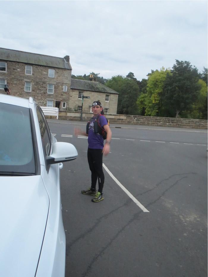 St Oswalds Ultra Rothbury checkpoint
