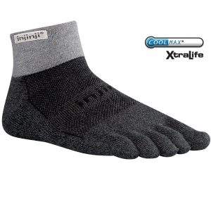 Injini Toe Mid Length Trail Socks