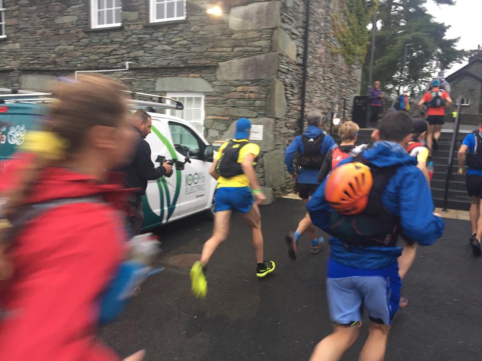 Start of the Lakes Sky Ultra 2017