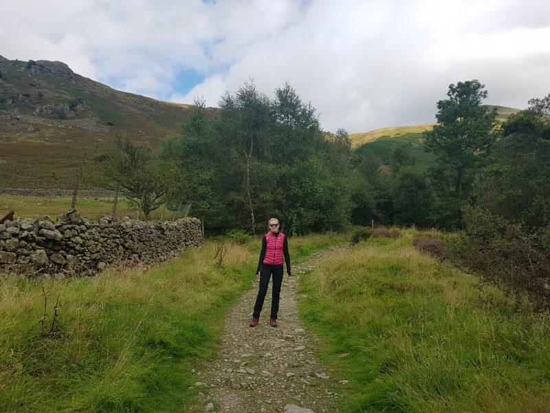 Path to Helvellyn