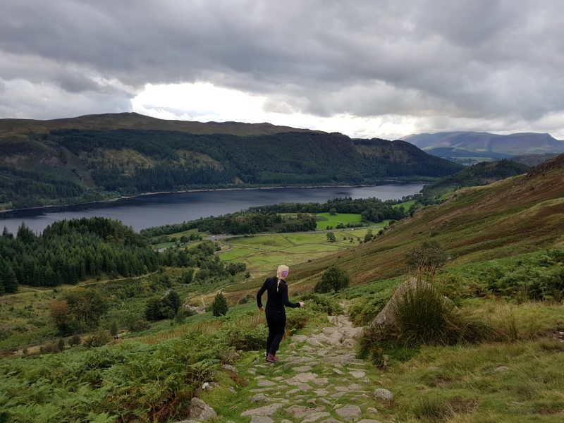 Thirlmere coming down from Helvellyn
