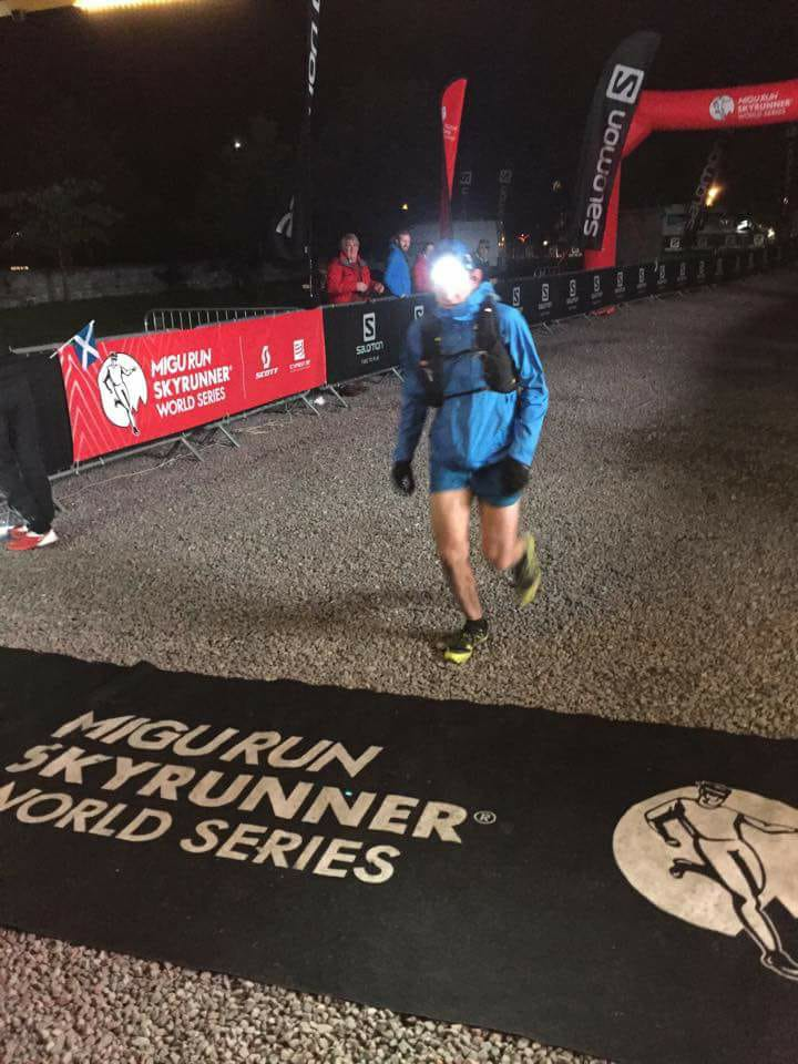 Finish of Ben Nevis Ultra at Kinlochleven