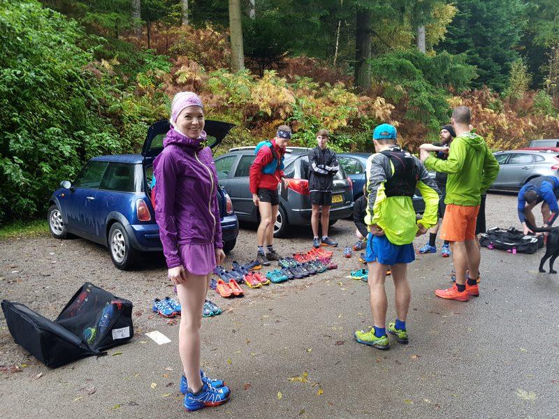 Salomon trail running workshop Lake Dirtsict