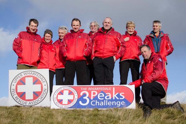 UWFRA Wharfedale Three Peaks Challenge