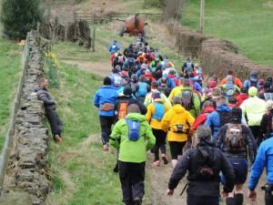 Hardmoors Trail Marathon Wainstones Start