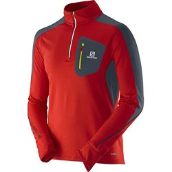 Salomon Trail Runner Warm 1/2 Zip Running Top - AW15