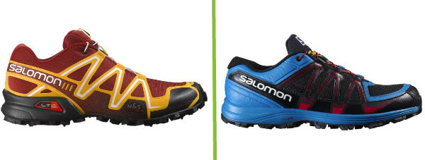 Salmon Speedcross 3 v Salomon Fellraiser Cushioning comparison