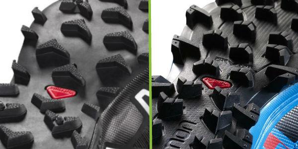 Salomon Speedcross 3 v Fellraiser grip comparison