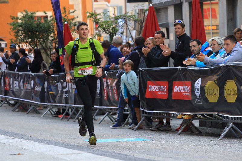 UTMB 2016 finish in Chamonix