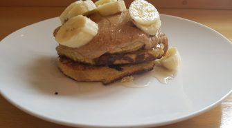 Energy pancakes with protein powder